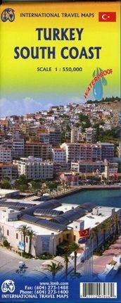 Turkey South Coast 1:550.000