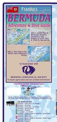 Franko Map Bermuda Dive Map