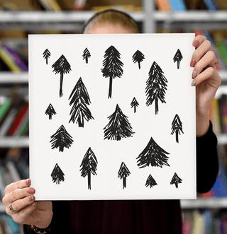 """Laimingų namų taisyklės """"Eglutės"""", 30 x 30 cm"""