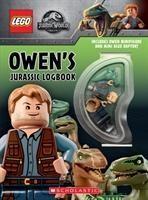 Owen's Jurassic Logbook (wth Owen minifigure and mini Blue Raptor)