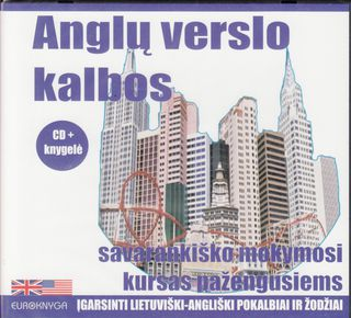 Anglų verslo kalbos savarankiško mokymosi kursas pažengusiems