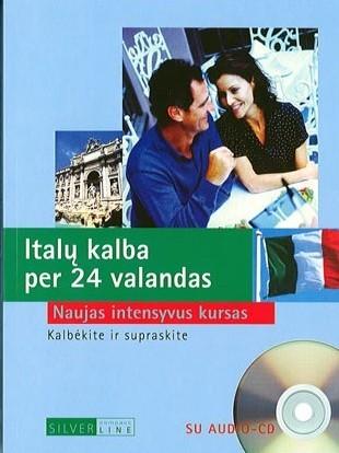 Italų kalba per 24 valandas + CD
