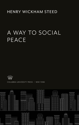 A Way to Social Peace
