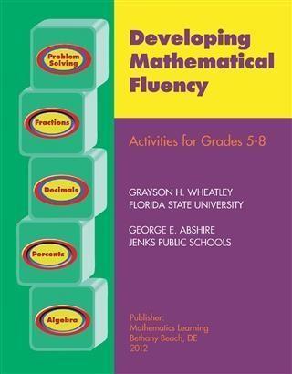 Developing Mathematical Fluency