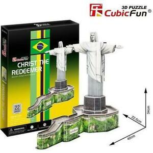 3D dėlionė: Christ the Redeemer