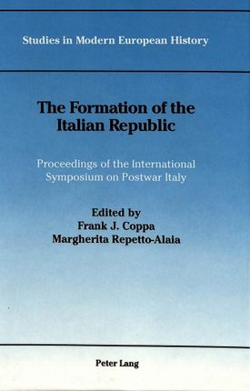 The Formation of the Italian Republic