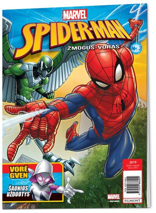 Spider-man. Žmogus-voras. Žurnalas 2019/3