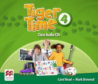 Tiger Time 4. 3 Class Audio-CDs