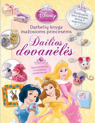 Darbelių knyga mažosioms princesėms. Dailios dovanėlės. Su paveikslėliais ir nuosekliais paaiškinimais!