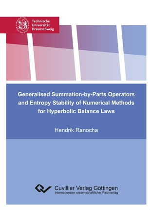 Generalised Summation-by-Parts Operators and Entropy Stability of Numerical Methods for Hyperbolic Balance Laws