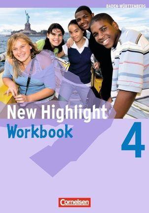 New Highlight 4: 8. Schuljahr. Workbook. Baden-Württemberg