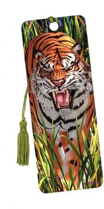 """3D Knygų skirtukas """"Tigras"""""""