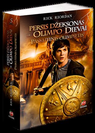 Persis Džeksonas ir Olimpo dievai. Paskutinis olimpietis. 5-oji knyga