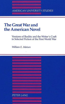 The Great War and the American Novel