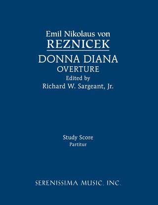 Donna Diana Overture: Study Score
