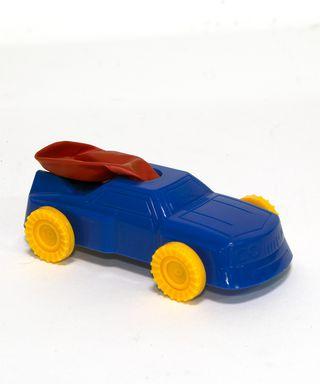 Balionu varomas automobiliukas
