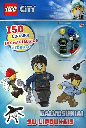 LEGO® City. Galvosūkiai su lipdukais