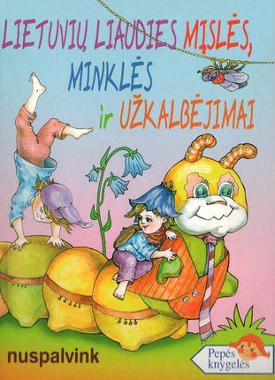 Lietuvių liaudies mįslės, minklės ir užkalbėjimai. Nuspalvink