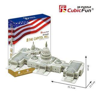 3D dėlionė: Jungtinių Valstijų Kapitolijus