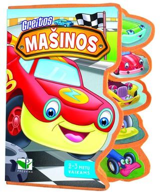 Greitos mašinos. 2-3 metų vaikams