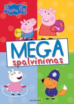 Peppa Pig. Kiaulytė Pepa: mega spalvinimo knyga