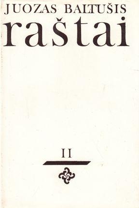 Juozas Baltušis. Raštai II (1975)