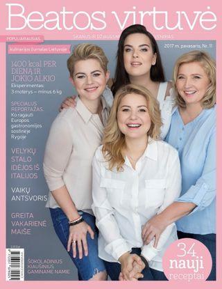 Beatos virtuvė. Žurnalas. Pavasaris Nr.11 (2017)