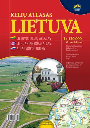 Lietuvos kelių atlasas. 1 : 120 000