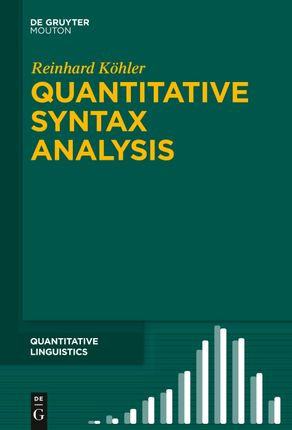 Quantitative Syntax Analysis
