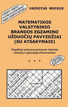 Matematikos valstybinio brandos egzamino užduočių pavyzdžiai (su atsakymais) (2004)