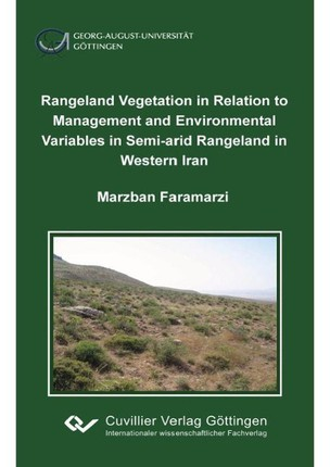 Rangeland vegetation in relation to management and environmental variables in semi-arid rangeland in western Iran