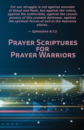 Prayer Scriptures for Prayer Warriors