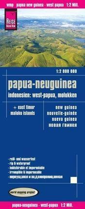Reise Know-How Landkarte Papua-Neuguinea, Indonesien: West-Papua, Molukken (1:2.000.000)