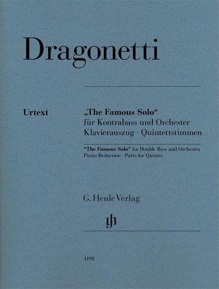"""The Famous Solo"" für Kontrabass und Orchester"