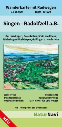 Singen - Radolfzell a.B. 1 : 25 000