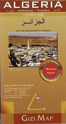 Algeria Road Map 1 : 1 250 000