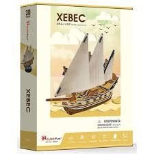 3D dėlionė: XEBEC