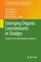 Emerging Organic Contaminants in Sludges