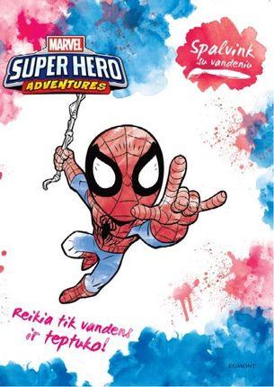 Super Hero adventures. Spalvink su vandeniu
