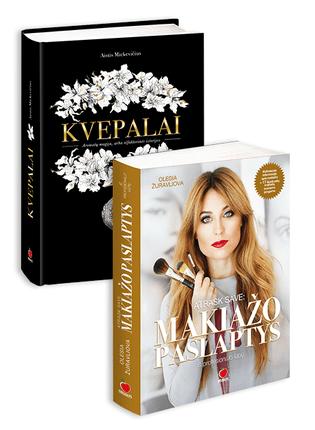 KVEPALAI + ATRASK SAVE: MAKIAŽO PASLAPTYS IŠ PROFESIONALO LŪPŲ: knygos, privalančios būti kiekvienos stilingos moters lentynoje!