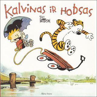 Kalvinas ir Hobsas.