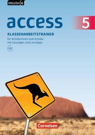 English G Access Band 5: 9. Schuljahr - Allgemeine Ausgabe - Klassenarbeitstrainer mit Audios und Lösungen online