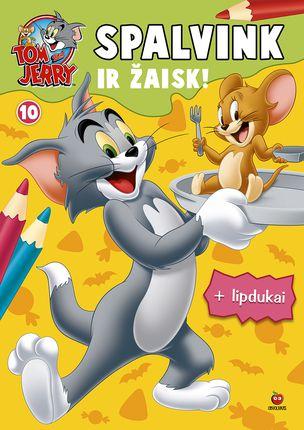 Tom & Jerry. Spalvink ir žaisk. Nr. 10