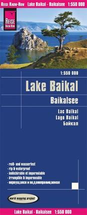 Reise Know-How Landkarte Baikalsee 1:550.000