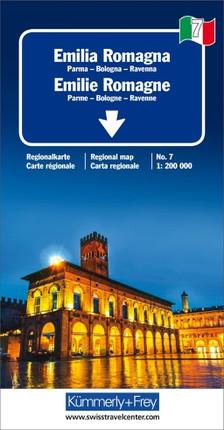 KuF Italien Regionalkarte 07. Emilia Romagna 1 : 200 000