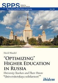 """""""Optimizing"""" Higher Education in Russia"""
