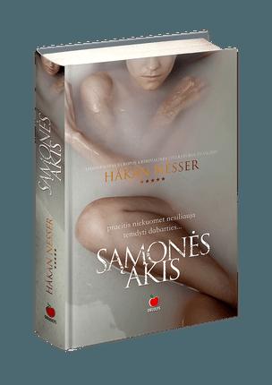 SĄMONĖS AKIS: skaitomiausio švedų autoriaus, apdovanoto Europos kriminalinės literatūros žvaigžde, romanas detektyvų gurmanams