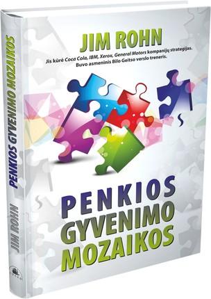PENKIOS GYVENIMO MOZAIKOS: autorius kūrė Coca Cola, IBM, Xerox, General Motors kompanijų strategijas, buvo asmeninis Bilo Geitso verslo treneris