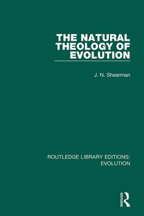 The Natural Theology of Evolution
