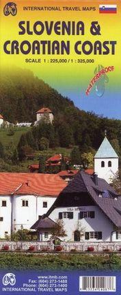 Slovenia 1 : 225 000 & Croatian Coast 1 : 325 000